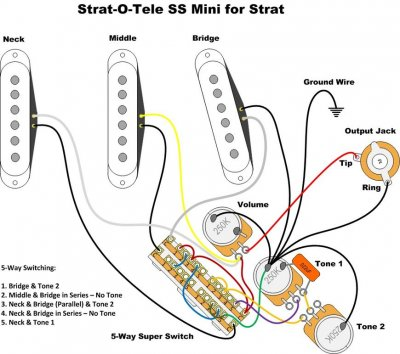 Strat With 3 Way Switch Wiring Diagram also Fender Mij 62 Stratocaster Reissues as well Showthread further Super Switch Wiring Diagram together with 21649 Guitar Shop 101 Coil Tap An Hss Strat. on stratocaster 5 way switch wiring