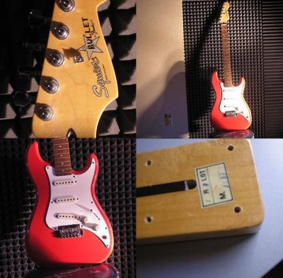squier bullet e serial number