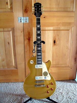 I Listed It With More Complete Description And Pix On Reverb At Item 4116734 Epiphone 1956 Les Paul Gold Top Pro