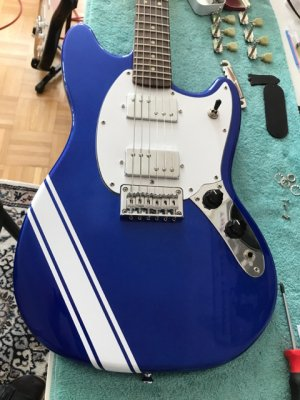 Bullet Mustang Show And Explain Your Mods Squier Talk Forum