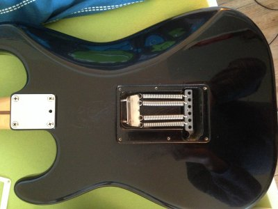 import strat with full sized not slanted trem block squier talk forum