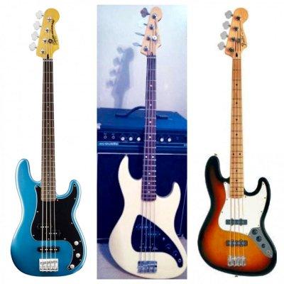 NBD (delayed): Vintage Modified Precision Bass PJ  | Squier