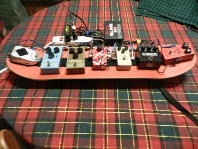 What's the story on your pedalboard | Squier-Talk Forum
