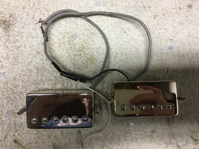 SOLD - Epiphone Alnico Classic Pro Chrome Covered Humbuckers