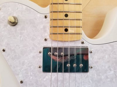 Squier VM Tele Deluxe fit Fender MIM strat neck?   Squier